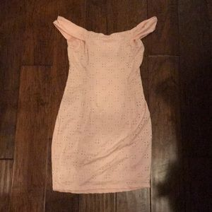 Pink urban outfitters dress